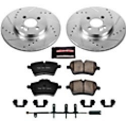 2008 Mini Cooper Brake Disc and Pad Kit Powerstop found on Bargain Bro India from JC Whitney for $225.91