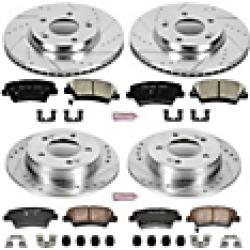 2016 Hyundai Elantra Brake Disc and Pad Kit Powerstop found on Bargain Bro India from JC Whitney for $377.69