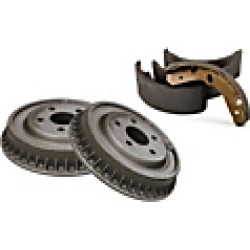 1984 Chrysler E Class Brake Shoe Set Centric found on Bargain Bro India from JC Whitney for $110.70