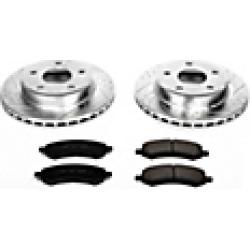 2010 Dodge Dakota Brake Disc and Pad Kit Powerstop found on Bargain Bro India from JC Whitney for $293.45