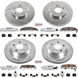 2002 Pontiac Firebird Brake Disc and Pad Kit Powerstop found on Bargain Bro India from JC Whitney for $483.55