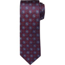 1905 Collection Floral Dot Pattern Tie