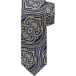 Signature Gold Decor Medallion Tie CLEARANCE found on Bargain Bro India from Jos. A. Bank for $1.99