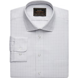 Reserve Collection Tailored Fit Spread Collar Broken Line Check Dress Shirt, by JoS. A. Bank