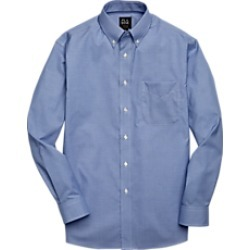 Traveler Collection Traditional Fit Button-Down Mini Check Men's Sportshirt CLEARANCE