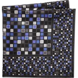 Jos. A. Bank Multicolor Tile Pocket Square