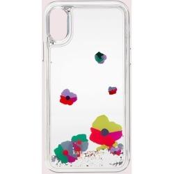 Collage Liquid Glitter Iphone Xs Case - Multi - One Size