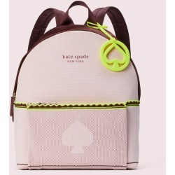 The Sport Knit City Pack Large Backpack - Pink - One Size found on Bargain Bro UK from katespade.co.uk
