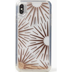 Kate Spade Iphone Cases Liquid Glitter Resin Iphone Xs Max Case, Clear