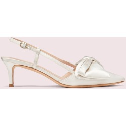 Marseille Pumps - Cream - 5.5 found on MODAPINS from katespade.co.uk for USD $265.51