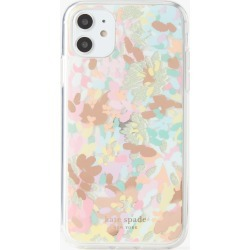 Painted Petals Iphone 11 Case - Multi - One Size found on Bargain Bro UK from katespade.co.uk