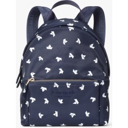 City Pack Paper Boats Medium Backpack - Squid Ink Multi - One Size found on Bargain Bro UK from katespade.co.uk