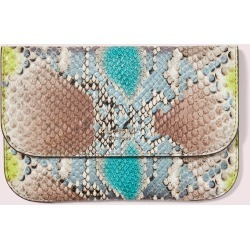 Python-Embossed Pouch - Multi - One Size found on Bargain Bro UK from katespade.co.uk