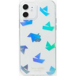 Kate Spade Paper Boats Iphone 12/12 Pro Case, Clear