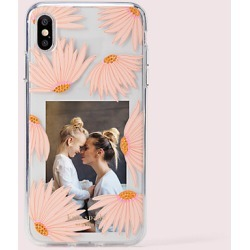 Kate Spade Jeweled Falling Flower Photo Frame Iphone Xs Max Case, Clear Multi