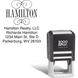 Square Name Stamper found on Bargain Bro Philippines from Lillian Vernon for $18.99