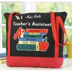 Teacher's Assistant Tote Bag found on Bargain Bro India from Lillian Vernon for $29.99