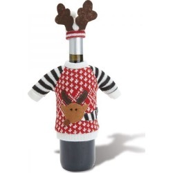 Reindeer Wine Bottle Sweater found on Bargain Bro India from Lillian Vernon for $5.00