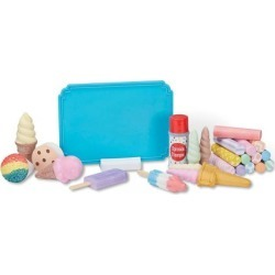 Ice Cream Shop Chalk Set by Melissa & Doug® found on Bargain Bro India from Lillian Vernon for $29.99