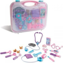 Personalized Pink Doctor Set found on Bargain Bro India from Lillian Vernon for $49.99