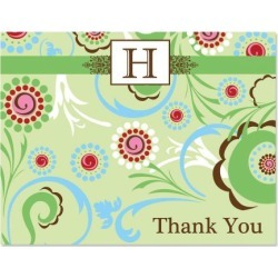 Fanciful Thank You Card
