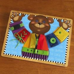 Melissa & Doug® Wooden Dress Me Board