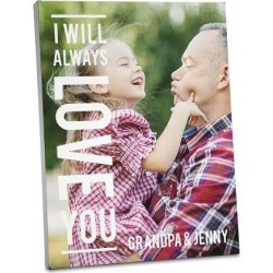 Always Love Photo Plaque found on Bargain Bro India from Lillian Vernon for $24.99