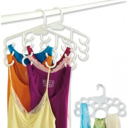 Multi-Purpose Hangers found on Bargain Bro India from Lillian Vernon for $16.99