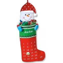 Snowman Stocking Advent Calendar