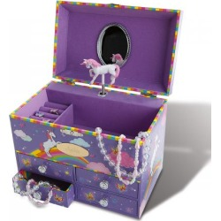 Personalized Unicorn Music Box