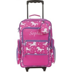 Unicorn Personalized Rolling Luggage found on Bargain Bro India from Lillian Vernon for $54.99
