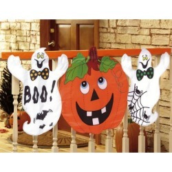 Halloween Porch Decor found on Bargain Bro India from Lillian Vernon for $19.99