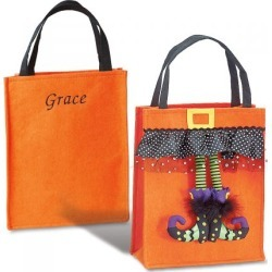 Witch Feet Bag - Orange found on Bargain Bro India from Lillian Vernon for $16.99