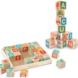 ABC 123 Wooden Blocks by Melissa & Doug®
