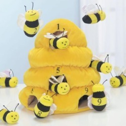 Plush Counting Beehive found on Bargain Bro India from Lillian Vernon for $29.99