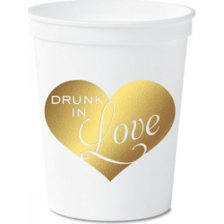 Drunk in Love Stadium Cups found on Bargain Bro India from Lillian Vernon for $12.99
