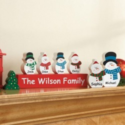 Holiday Characters Block Set