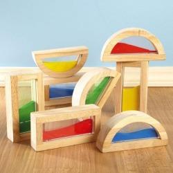 Rainbow Stacking Blocks