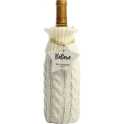 Knitted Wine Bottle Cover