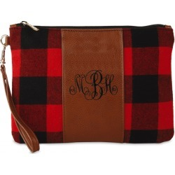 Personalized Buffalo Plaid Wristlet found on Bargain Bro India from Lillian Vernon for $32.99