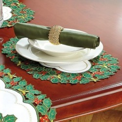 Holly Placemats - Set of 4 found on Bargain Bro India from Lillian Vernon for $19.99