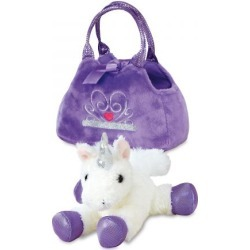 Unicorn Fancy Pals™ Plush Pet & Carrier found on Bargain Bro India from Lillian Vernon for $17.99