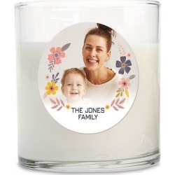 Floral Photo Candle found on Bargain Bro India from Lillian Vernon for $14.99