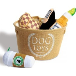 Dog Toy Bin by Harry Barker