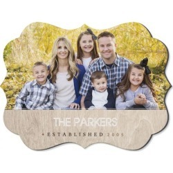 Light Wood Family Name Benelux Photo Plaque found on Bargain Bro India from Lillian Vernon for $19.99