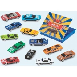 Die-Cast Cars with Case
