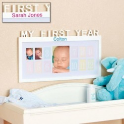 My First Year Frame found on Bargain Bro India from Lillian Vernon for $39.99
