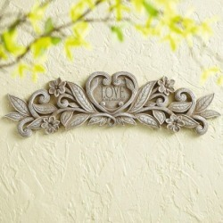 Love Is All Around Wall Plaque