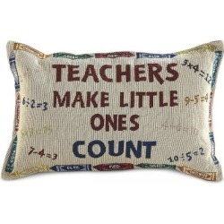 Teacher's Pillow found on Bargain Bro India from Lillian Vernon for $14.99