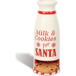 Milk & Cookies for Santa Bottle